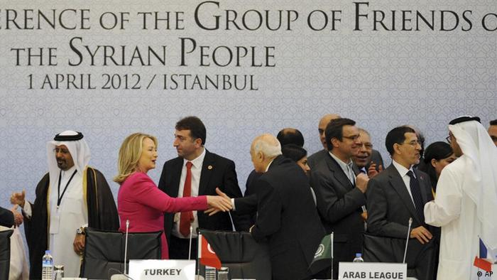 بیش از ۸۳ کشور و نهاد بینالمللی در کنفرانس دوستان مردم سوریه در استانبول شرکت داشتند.