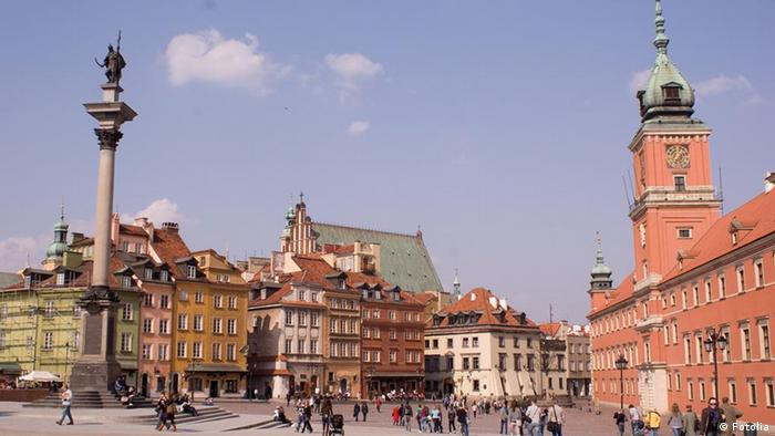 Warsaw's historic city center