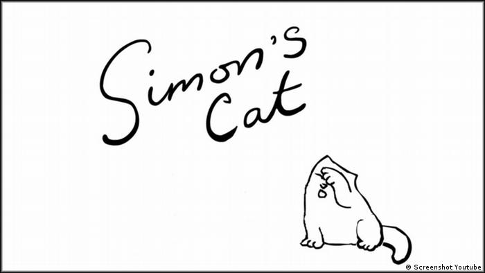 Simon's Cat Screenshot Youtube (Screenshot Youtube)