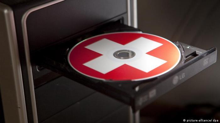 Schweiz Deutschland Steuersünder Steuern CD (picture-alliance/ dpa)