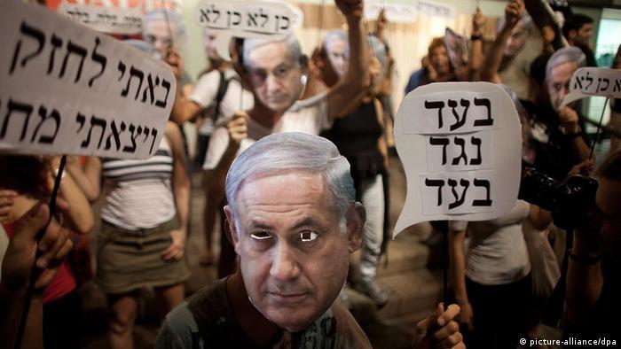 Israel Demonstration gegen Presissteigerungen in Tel Aviv