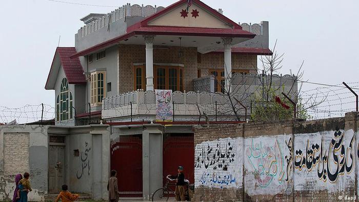 Pakistan 3 Bin Laden Witwen verurteilt Haus in Islamabad (Foto: dapd)