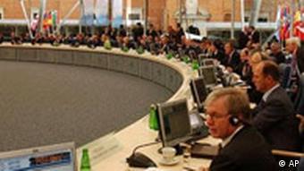 Gipfel des Europarates, Foto: AP