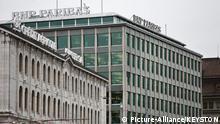 Genf Bankenviertel