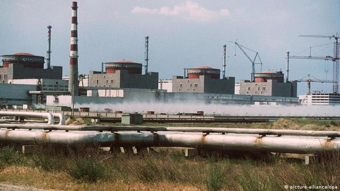 Атомная электростанция в Запорожье