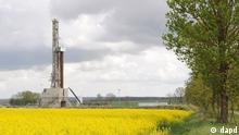 In this picture taken May 16, 2011 a shale gas well is seen in Lebien, in northern Poland, where Lane Energy Poland company is drilling to assess economic viability of shale gas deposits, reported to be substantial in Poland. A state report based on pre-1990 data is to be released on Wednesday to present an evaluation of Poland's reserves. Poland is hoping its shale gas reserves will help it break away from dependence on Russian energy imports. (Foto:Andrzej.J. Gojke/AP/dapd) Poland Out