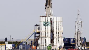 Устновка по добыче сланцевого газа