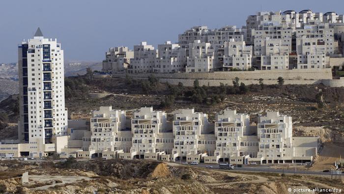 Siedlungsbau in Ost-Jerusalem