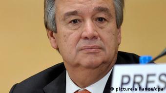 Antonio Guterres UNO-Flüchtlingskommissar