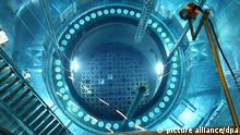 Radioaktive Brennstäbe im Kernkraftwerk Philippsburg