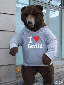 Large stuffed bear in Berlin