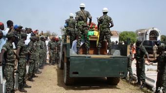 Guinea Bissau Soldaten