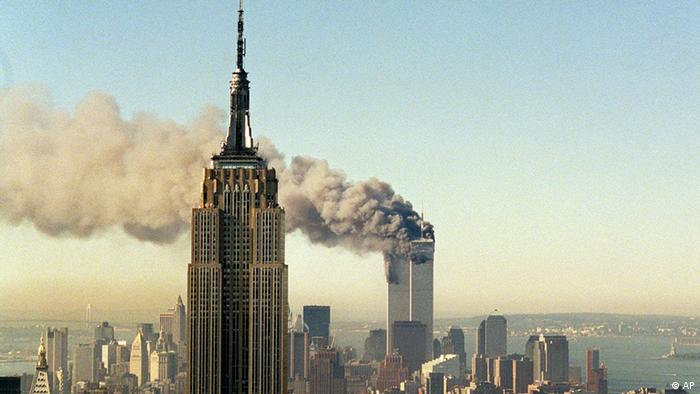 World Trade Center Anschlag 11. September 2001 (Archivfoto: ddp)
