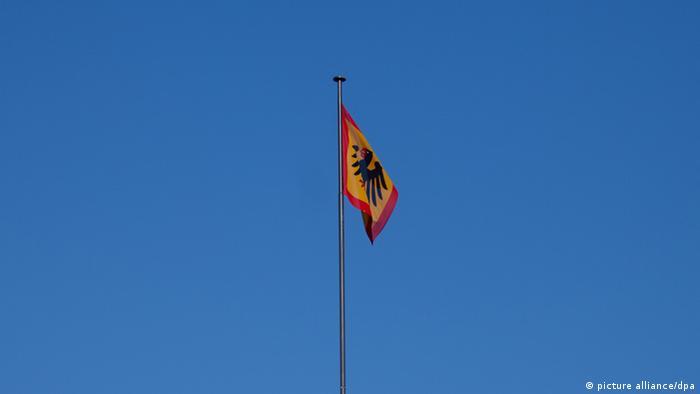 Standarte Bundespräsident Deutschland Schloss Bellevue