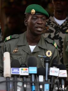 Kiongozi wa mapinduzi ya kijeshi wa Mali, Amadou Haya Sanogo.