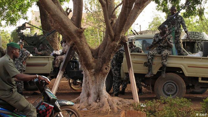 Putschisten in Mali auf Patrouille (Foto: dapd)