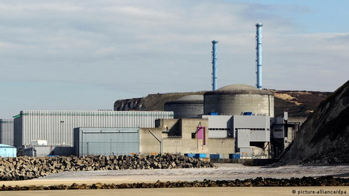 The Penly nuclear plant in France