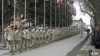 Afghanistan Mazedonische Soldaten ISAF