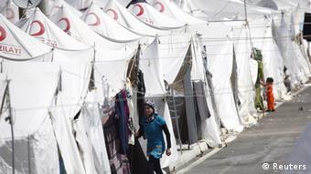 Η τουρκική Ερυθρά Ημισέληνος έχει πλούσια δράση στους προσφυγικούς καταυλισμούς της βόρειας Συρίας