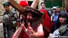 Ostern Osterfeierlichkeiten 2012 Jerusalem