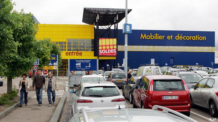 An IKEA store in Plaisir, France.