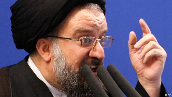 Freitagspredigt von Ayatollah Ahmad Khatami 26.06.09 (AP)