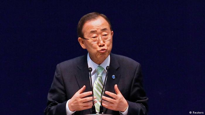 UN-Generalsekräter Ban Ki Moon (Foto: Reuters)