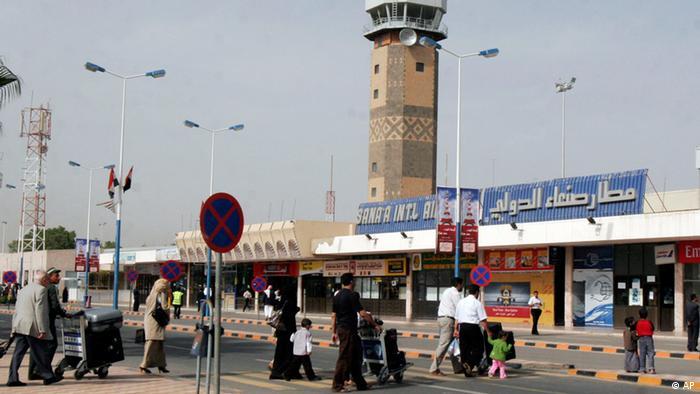 Flughafen Sanaa Jemen (AP)