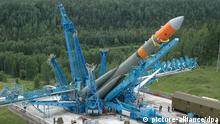 ARKHANGELSK REGION, RUSSIA. JULY 2, 2006. Unmanned Molniya-M booster rocket carrying a Kosmos military satellite into orbit is to be launched from Plesetsk cosmodrome. Foto: ITAR-TASS / Alexander Babenko +++(c) dpa - Report+++