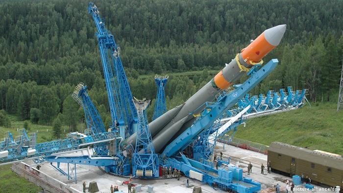 Старт ракеты-носителя Молния-М с космодрома Плесецк