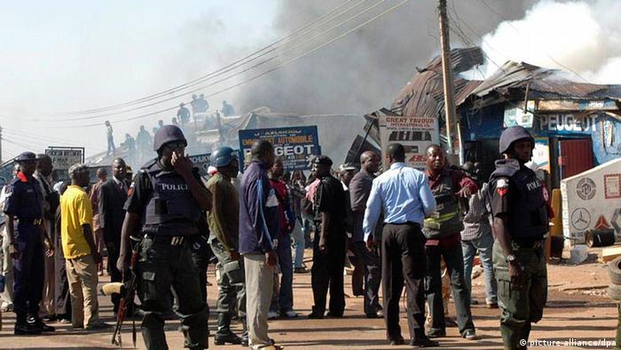 Image result for هجمات العاصمة النيجيرية أبوجا