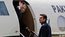 Präsident Pakistans Asif Ali Zardari zu Besuch in Indien