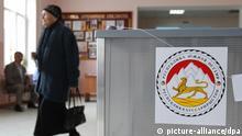 1087572 Respublika South Ossetia, Tskhinvali. 04/08/2012 Voting at a polling station held as part of the South Ossetian presidential elections. Mihail Mokrushin/RIA Novosti