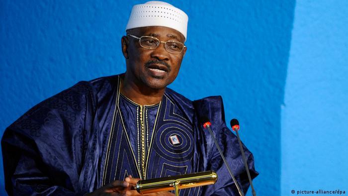 Mali Präsident Amadou Toumani Touré
