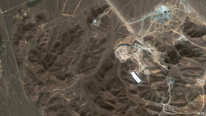 Iran Atomanreicherungsanlage (AP)