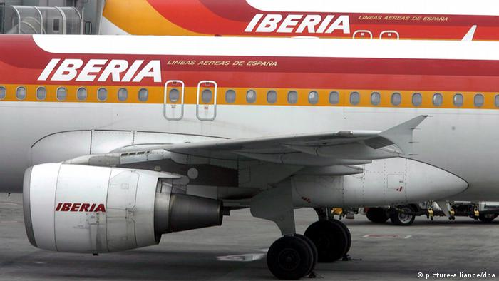 Flugzeuge von Iberia (picture-alliance/dpa)