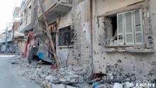 شهرهای ویران شده در سوریه