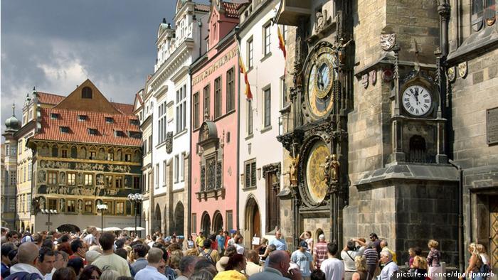 Touristenmagnet Prag - Rathaus