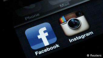 Facebook- und Instagram-Icons