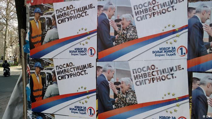 Serbien Wahlen 2012