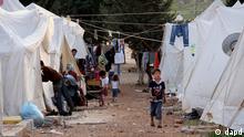 اردوگاه پناهجویان سوری در خاک ترکیه
