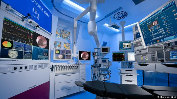 High-tech operating room