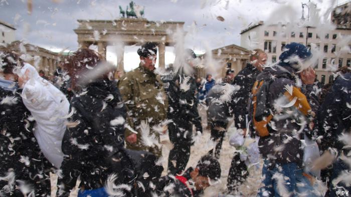 Подушечный бой в Берлине