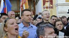 Protest gegen Wahlbetrug in Russland