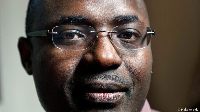 Angolan journalist and rights activist Rafael Marques. Photo: Elin Høyland