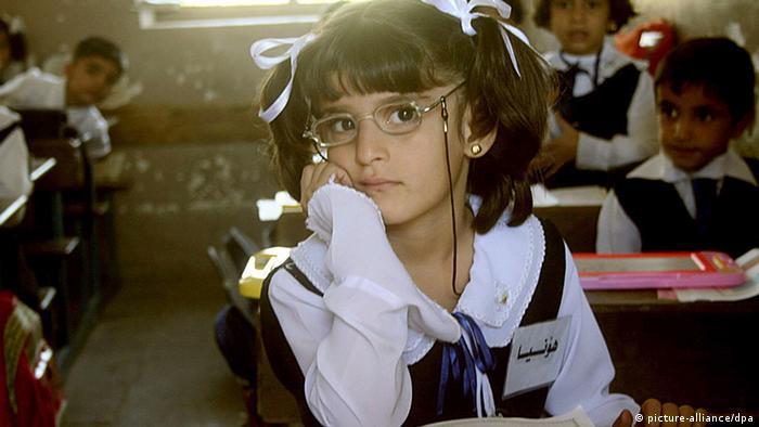 Irak Schule Kurdistan Kurdische Schülerin