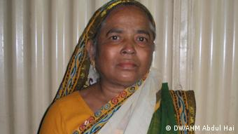 Freiheitskämpferin Kazi Helen von Comilla, Bangladesch