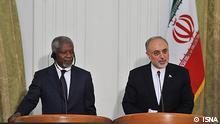 سفر کوفی عنان به تهران در چارچوب ماموریت صلح سوریه تاکیدی بر اهمیت نقش جمهوری اسلامی در سوریه بود