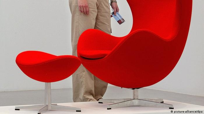Arne Jacobsen's Egg chair (picture-alliance/dpa)