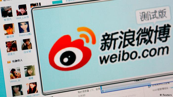 The logo of Sina Corp's Chinese microblog website Weibo is seen on a screen taken in Beijing in this September 13, 2011 file photo illustration. New real-identity rules to be imposed on China's Weibo are likely to make the country's most popular microblogging platform more alluring to advertisers, as Sina Corp seeks to start generating revenue from its product later this year. REUTERS/Stringer/Files (CHINA - Tags: POLITICS SCIENCE TECHNOLOGY BUSINESS LOGO)